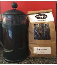 Higgy's HAFF-CAFF Flavor-Infused Coffee