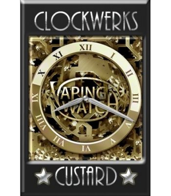 Clockwerks Custard Concentrate by Vaping Watch
